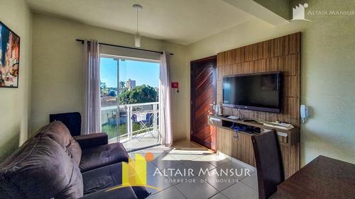 Imagem 1 de 11 de Ótimo Apartamento Com Mobília 2 Quartos À Venda No Balneário Paese - 1083