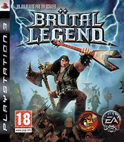 Jogo Brutal Legend Ps3 Jack Black Mídia Física Original Game