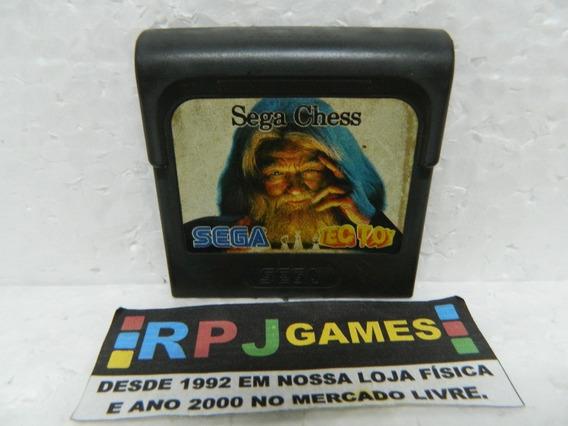 Sega Chess Original Tectoy P/ Game Gear - Loja Centro Rj - Somente O Cartucho