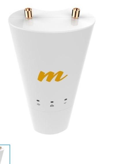 Mimosa C5c 5ghz 20dbi 2x2 Mu-mimo Client Radio Com Poe