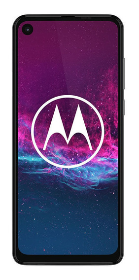 Celular Libre Motorola One Action White Iridescent
