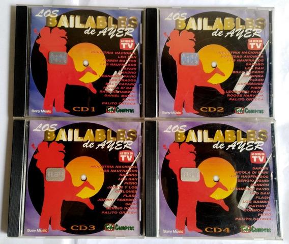 Los Bailables De Ayer Lote Cd Los 4 Volumenes Originales