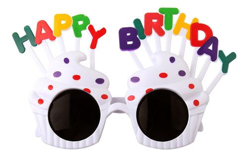 Mini Fiesta De Cumpleaños Gafas Decoración Lindo Marco