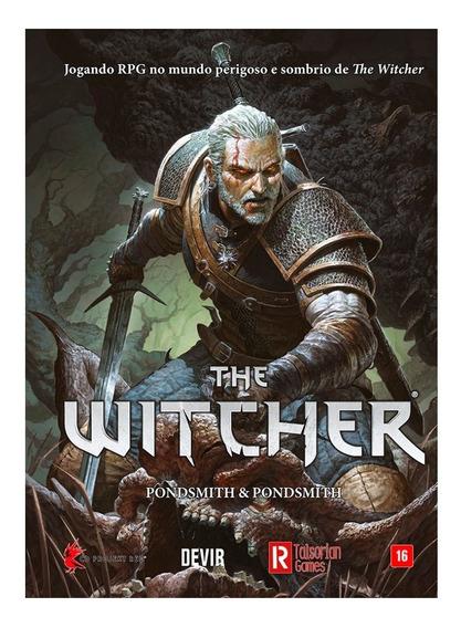 Livro Rpg The Witcher Portugues Original Devir Lacrado Book