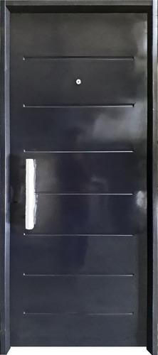 Imagen 1 de 5 de Puerta Exterior Doble Chapa Inyectada 80