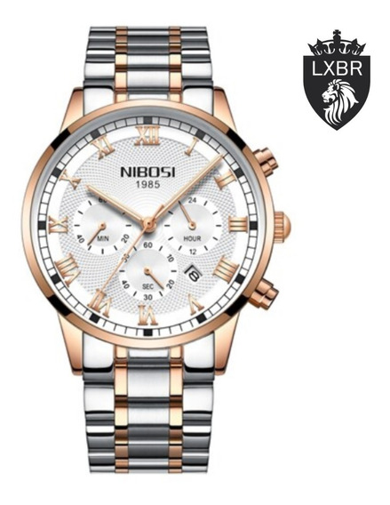 Relógio Original Nibosi Lançamento Romano Lxbr 06 Modelos