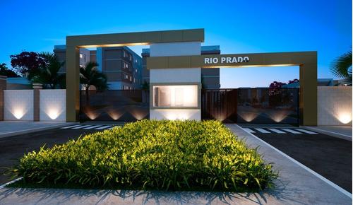 Imagem 1 de 17 de Apartamento Para Aluguel, 2 Quartos, 1 Vaga, Loteamento Clube V - São José Do Rio Preto/sp - 540
