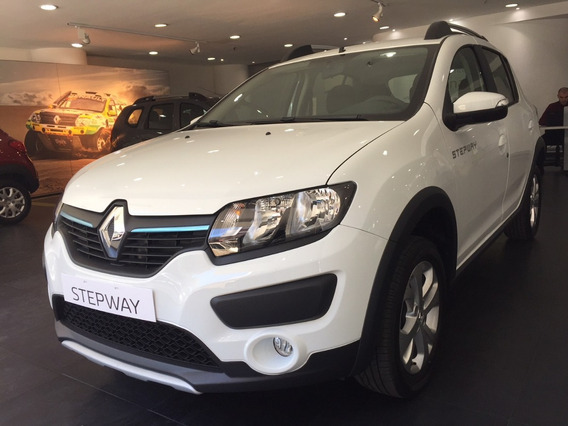 Renault Sandero Stepway Zen Oferta Contado Linea Nueva Hc!!