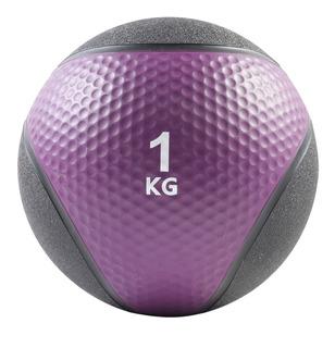 Pelota Con Peso 1 Kg Funcional Medicine Ball Con Pique