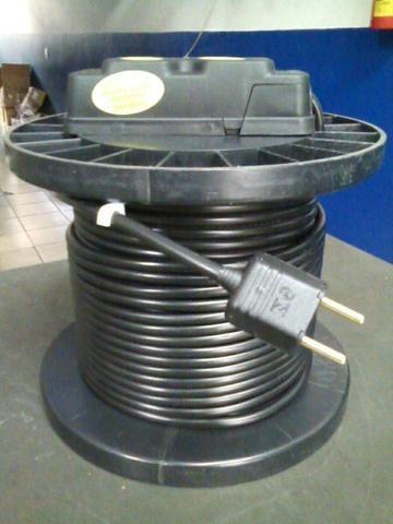 Extensao Eletrica Carretel 20 Mt Cabopp 2x1,5mm Emborrachado