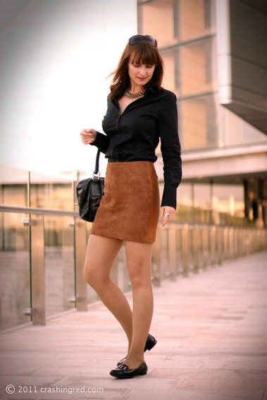 15 Minifaldas Gamuza