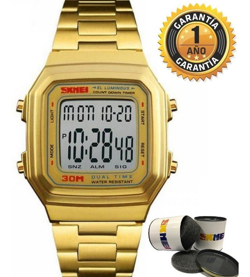 Relógio Feminino Digital Esportivo Vintage Geek Original Nf