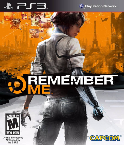 Play Station 3 Game Remember Me Capcom Lacrado Pronta Ent