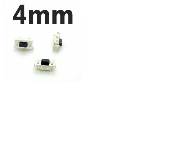 Botão Power Liga Desliga Chave 4mm Tablet Gps 10 Peças