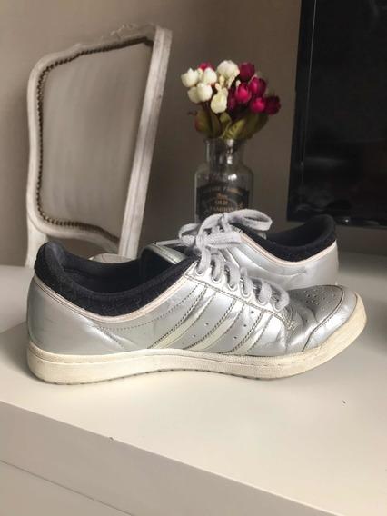 Zapatillas adidas Originals Plateadas #36