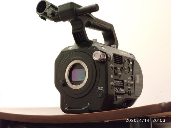 Câmera Sony Fs7 4k Completa, Case Bateria E Cartão 128gb