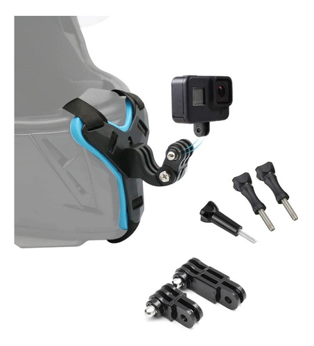 Arnés Para Casco Motocicleta Ajustable Gopro Sjcam Sony