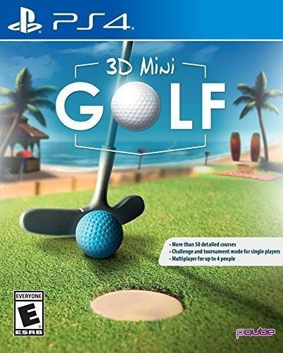 Imagen 1 de 10 de Mini Golf 3d - Playstation 4