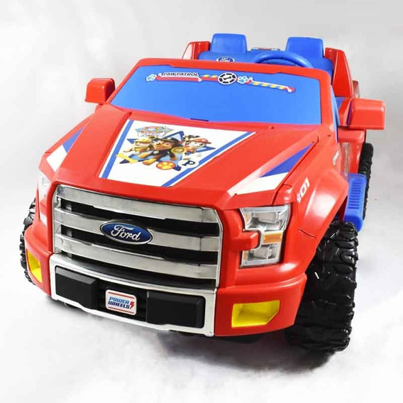 Power Wheels Montable F150 Paw Patrol 12v