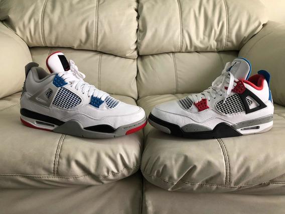 Tenis Air Jordan Retro 4 What The Del 29mx