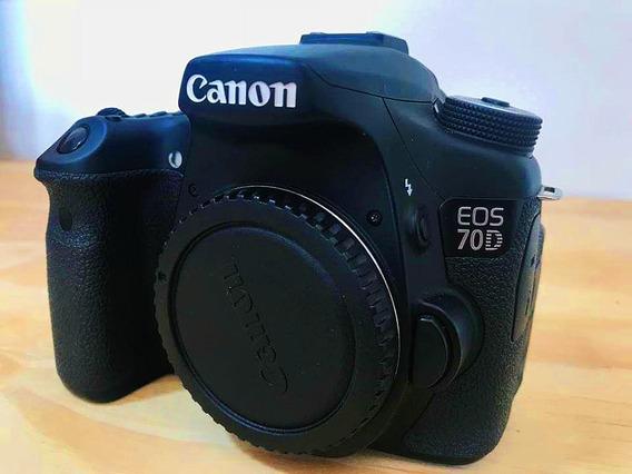Dslr Canon 70d + 2 Lentes
