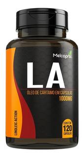 Oleo De Cartamo La 120 Capsula 1000mg Termogênico Melcoprol