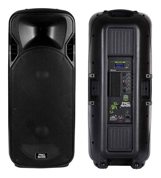 Caixa Ativa 2 Alt. 15 Bluetooth Probass Power Bass 215