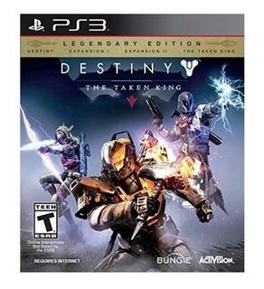 Destiny The Taken King Legendary Edition Ps3