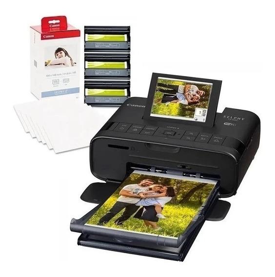 Impressora Canon Selphy Cp1300 + Cartuchos E Papel Kp108