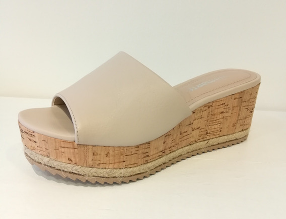 Sandalias Mujer Nude Vía Marte 18-14826 Importadas