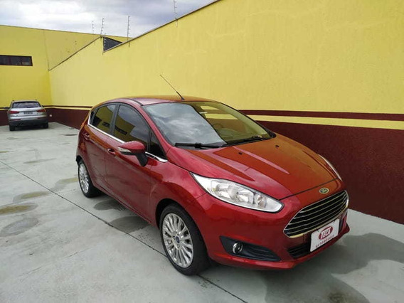 Ford New Fiesta 1.6 Titanium Hatch 16v Flex 4p Powershi