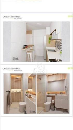 Cobertura Com 2 Dormitórios À Venda, 96 M² Por R$ 427.000,10 - Vila Curuçá - Santo André/sp - Co11867