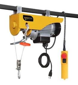 Polipasto Electrico Cable 20m Carga 200 A 400 Kilos 110v