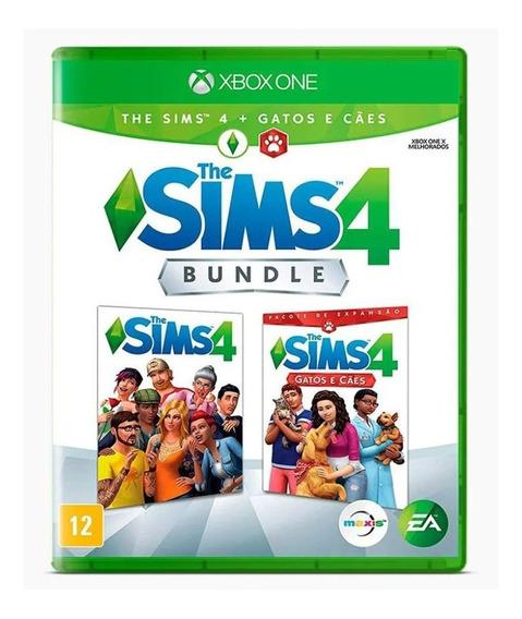 Bundle The Sims 4 + Gatos E Cães - Xbox One - Novo - Física