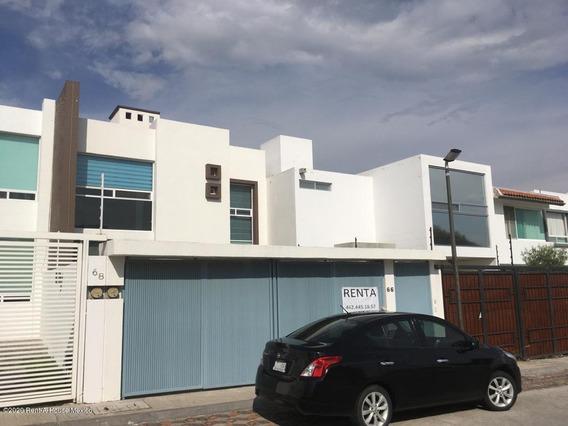 Casa En Renta En Milenio 3era Seccion, Queretaro, Rah-mx-21-14
