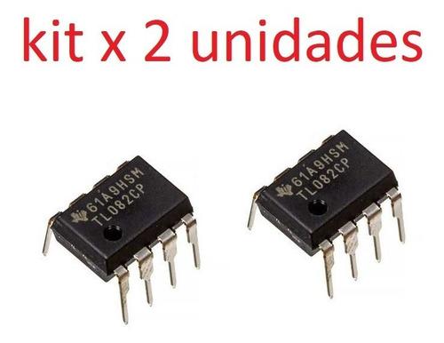 Amplificador Operacional Tl082cp Tl082c Tl082 Dip8 Jfet Ardu