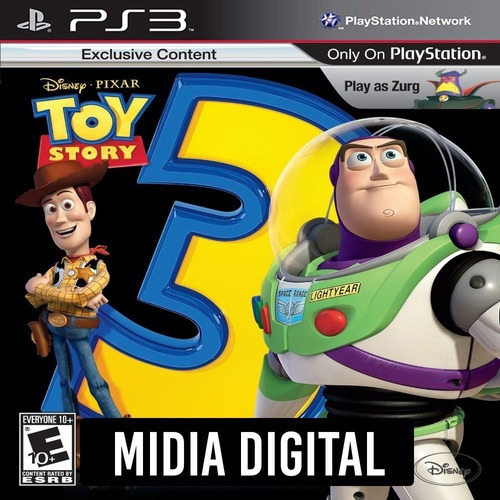 Toy Story 3 The Video Game - Ps3 Psn*