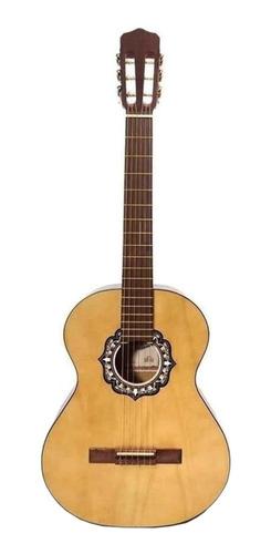 Imagen 1 de 3 de Guitarra criolla clásica Fonseca 25  natural