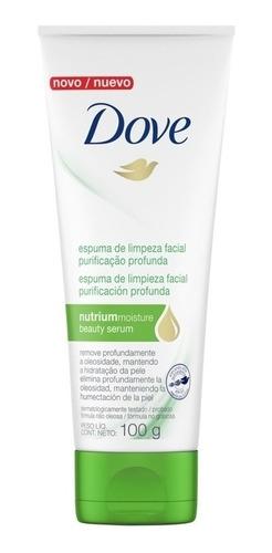 Espuma Facial Dove Purificación Profunda 100g