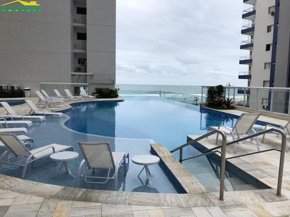 Frente Mar No Boqueirão Com 2 Dormitório E Lazer Completo, Só Imobiliária Em Praia Grande. - Mp13518