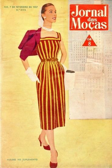 Jornal D Moças 1957 Linda Batista Humphrey Miss Carlos Frias