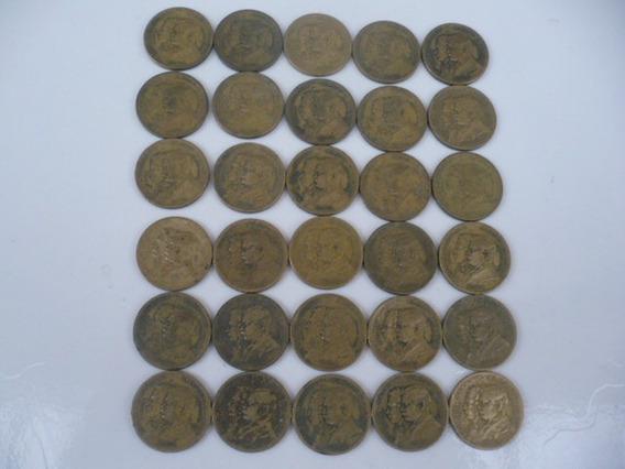 32 Moedas 1.000 Réis 1822-1922 (100 Anos Da Independência)