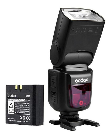 Flash Speedlite Digital E-ttl Godox Para Canon - V860iic