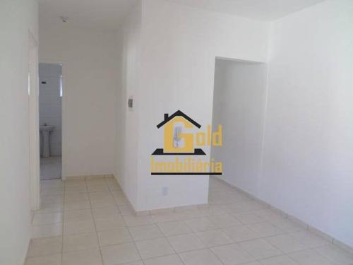 Apartamento Com 2 Dormitórios À Venda, 48 M² Por R$ 101.000 - Quintino Facci Ii - Ribeirão Preto/sp - Ap2155