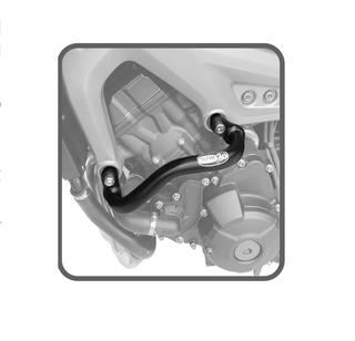 Protetor Motor E Carenagem Slider Yamaha Mt-09 E Tracer Mt09