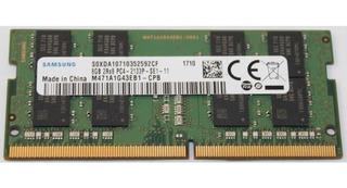 Memoria Samsung Para Laptop Ddr4 De 8gb 2133mhz Sodimm