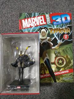 Marvel 3d Figuras De Colección - Nº 17 Tormenta
