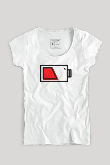 Camiseta Pilha Mãe Fem Reserva
