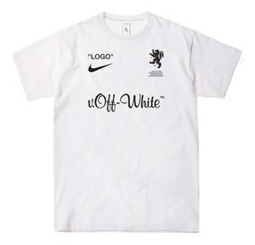 Camiseta Off-white Football / Virgil Abloh / Importado