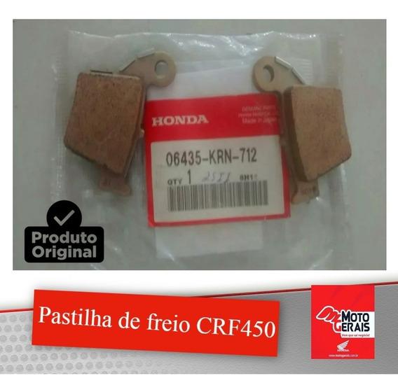 Kit Pastilha De Freio Diant. Tras. Crf450 Importada